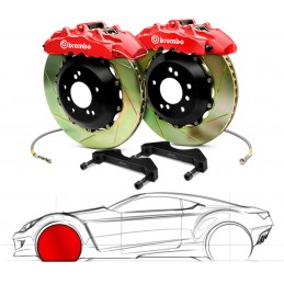 Brembo GT Audi A1 (excl.1.2 66kW and Quattro) 1A2.6033A
