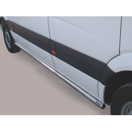 Side Protection Mercedes Sprinter SWB (With Inox Caps)