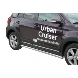 Side Protection Toyota Urban Cruiser (With Inox Caps)