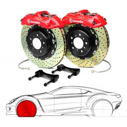 Brembo GT Audi A6 3.0T (with OE Disc 356mm/330mm) (C7) 1N1.9027A