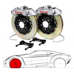 Brembo GT-R BMW E60/E61 5-Series (excl.xi, xd, M5) 2P3.8006A