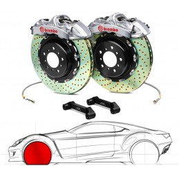 Brembo GT-R BMW E60/E61 5-Series (excl.xi, xd, M5) 2P2.8006A