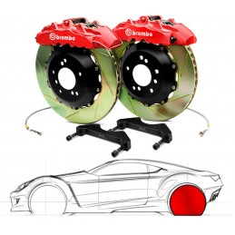 Brembo GT BMW E60 M5 (excl.Touring) 2P2.9003A