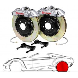 Brembo GT-R PORSCHE 997 Turbo (PCCB Equipped) 2P2.9005AR