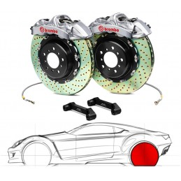 Brembo GT-R MERCEDES-BENZ C63 AMG, excl.Black Series (W204, C204) 2P1.8036AR