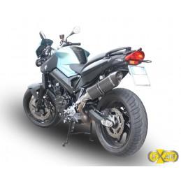 Exan Bmw F 800 R Ovale X-Black