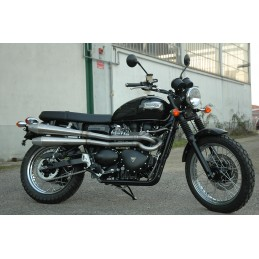 QD Exhaust 2 in 2 Triumph Scrambler
