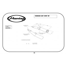 Marving Y/2149/BC Yamaha Xjr 1300 02