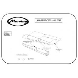 Marving K/2035/BC Kawasaki Z 400 Ohg