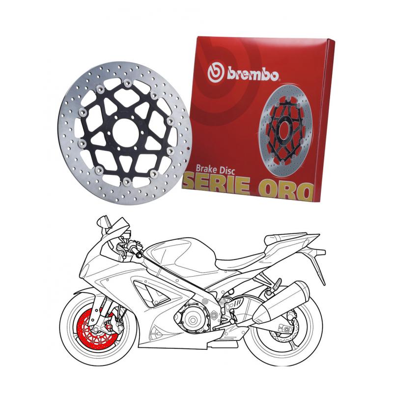 Brembo 168B407D6 Serie Oro Bmw R 1200 Gs Adventure