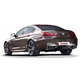 Akrapovic Bmw M6 Gran Coupé