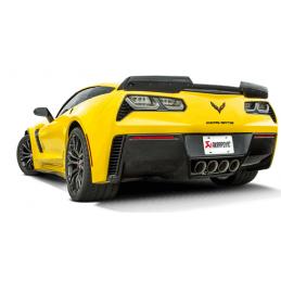 Akrapovic Chevrolet Corvette ZO6