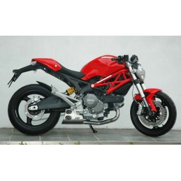 QD Exhaust Ex-Box Ducati Monster 1100 Evo