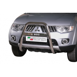 Bull Bar Mitsubishi L 200 Double Cab Club Cab