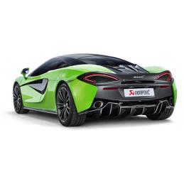 Akrapovic McLaren 540C