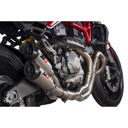 QD Exhaust Ducati Monster 821 Twin Gunshot