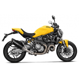 Akrapovic SD8SO2-HRBL + L-D12SO2 Ducati Monster 821