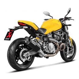 Akrapovic SD8SO2-HRBL + L-D12SO2 Ducati Monster 821