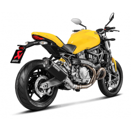 Akrapovic  S-D12SO8-RTBL + E-D12E1/1 Ducati Monster 821