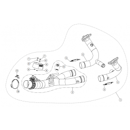 Akrapovic E-B12R7 Bmw R 1250 R/RS