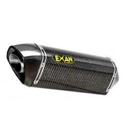Exan Bmw F 800 GS Ovale X-Black