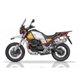 QD Exhaust Magnum Tronco Cono Slip On Moto Guzzi V85 TT