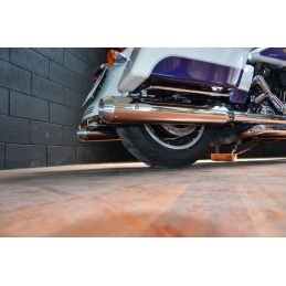 BS Exhaust Harley Davidson Softail Milwaukee Eight Fat Bob