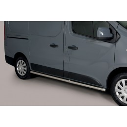 Side Protection Renault Trafic L1 (With Inox Caps)