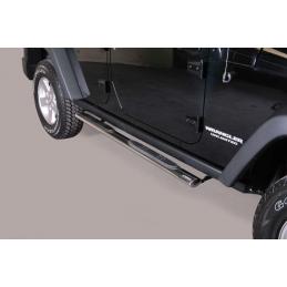 Trittbretter Jeep Wrangler