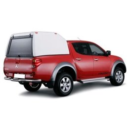 Hard Top Commerciale Toyota Hilux Double Cab 2016- SS Ouverture